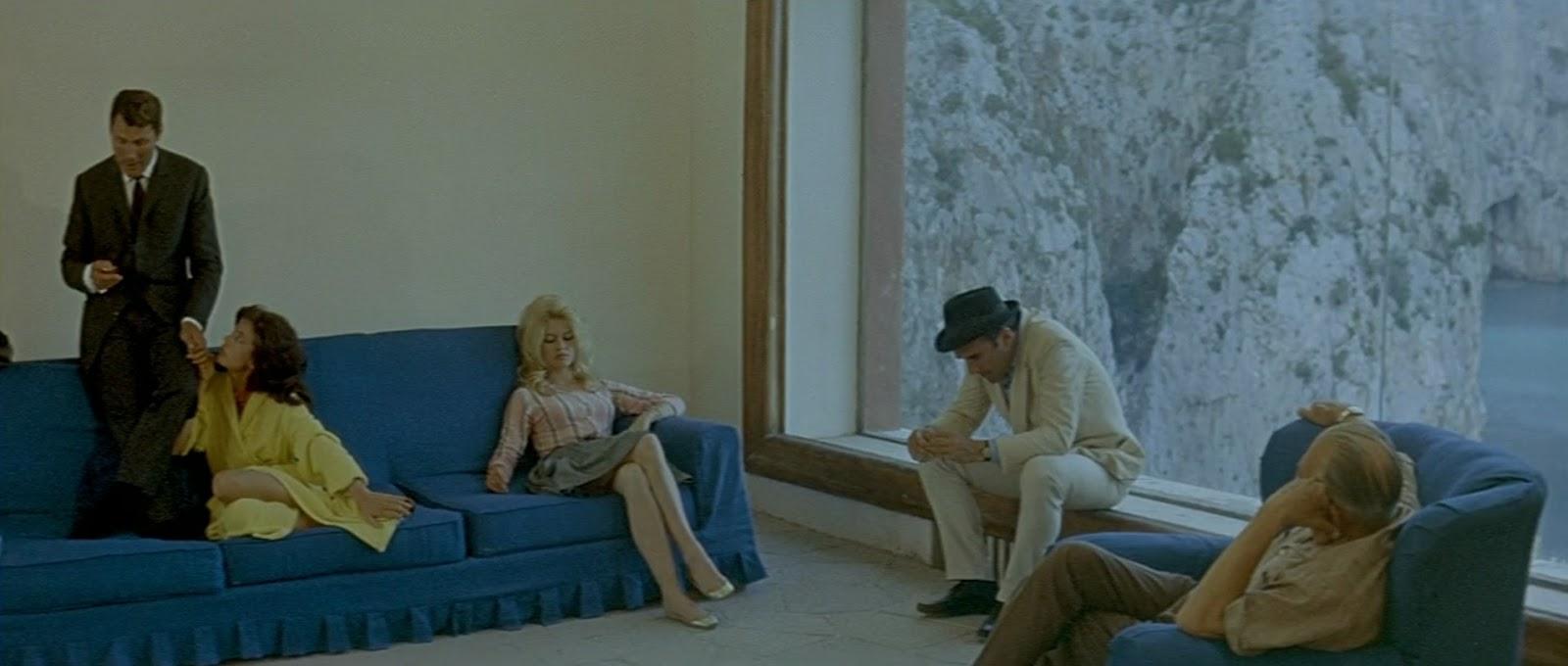 Le Mepris by Jean-Luc Godard